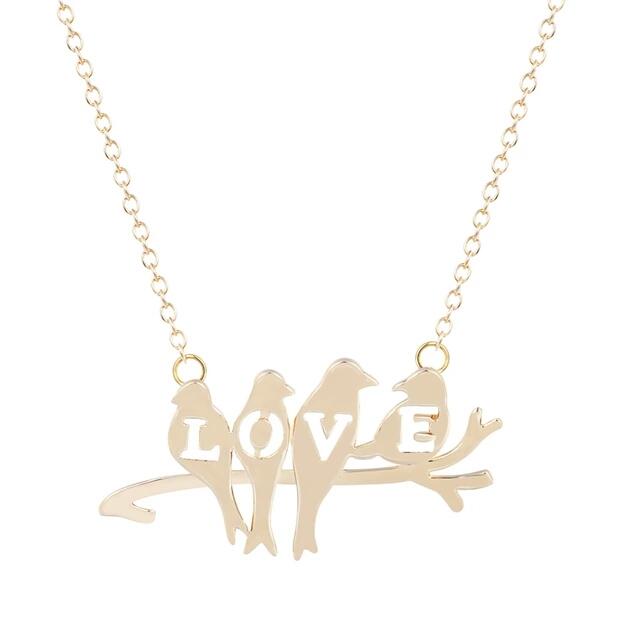 collier romantique femme