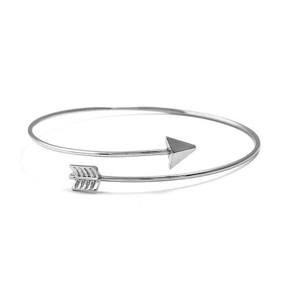 bracelet fleche argente pas cher