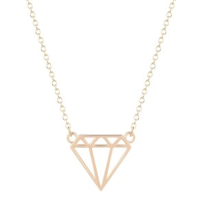 collier diamand
