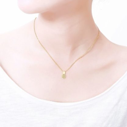 collier ananas pas cher
