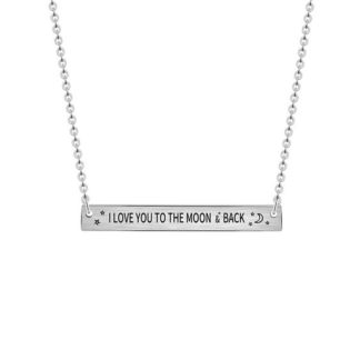 collier cadeau femme love you