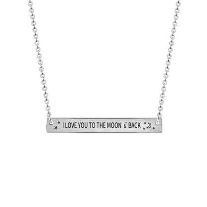 collier cadeau femme love you