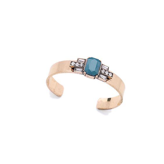 bracelet jonc bleu
