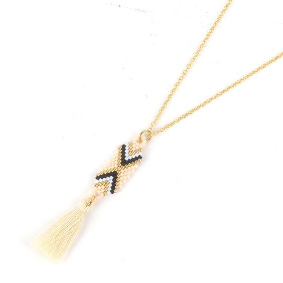 collier perles de japon nude