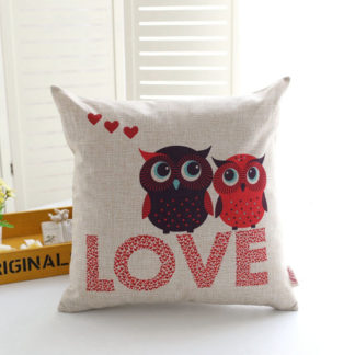 coussin hibou