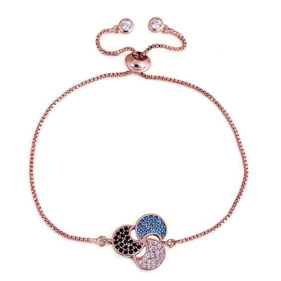 bracelet dore rose