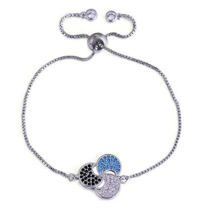 bracelet lune cadeau femme