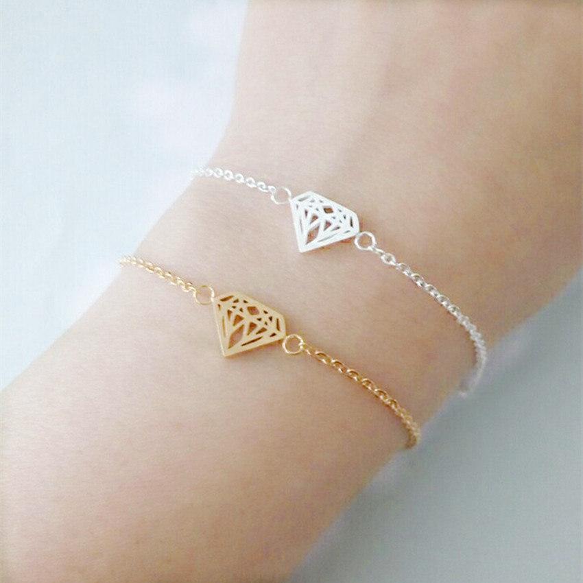 bracelet original cadeau femme argente la parisienne bijoux. Black Bedroom Furniture Sets. Home Design Ideas
