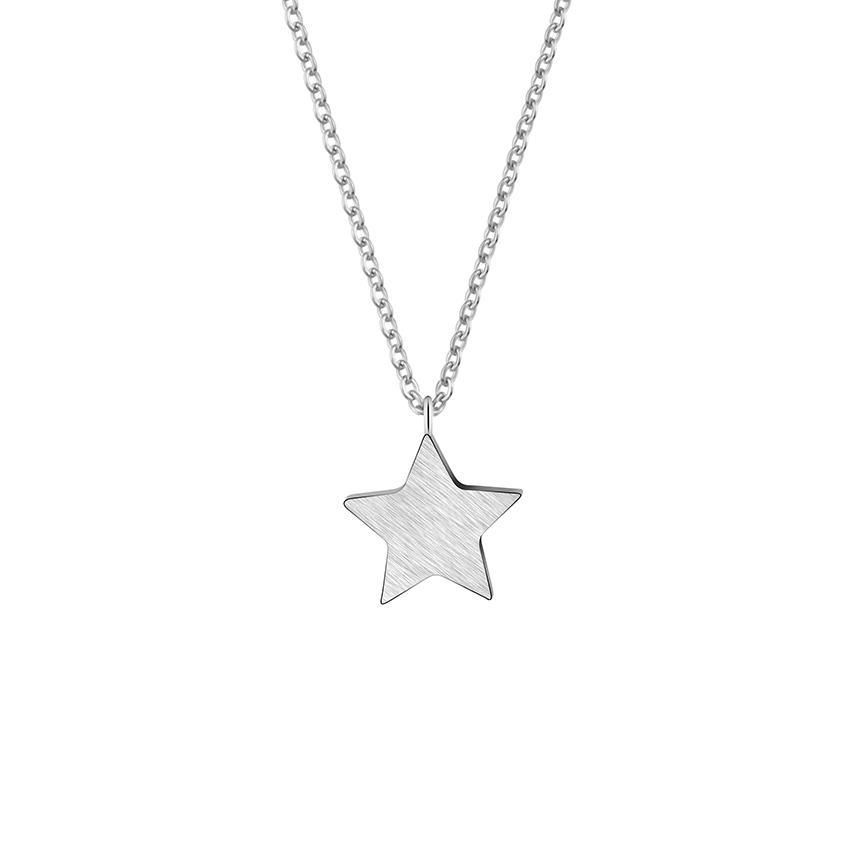 livraison gratuite b1950 8575e Collier créateur étoile argent