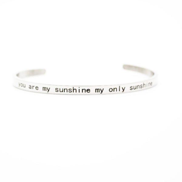 bracelet message copine