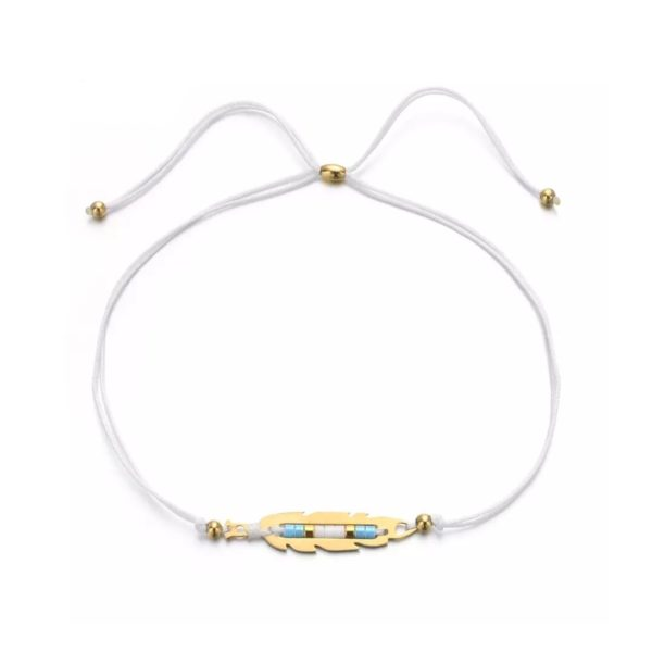 bracelet plume original