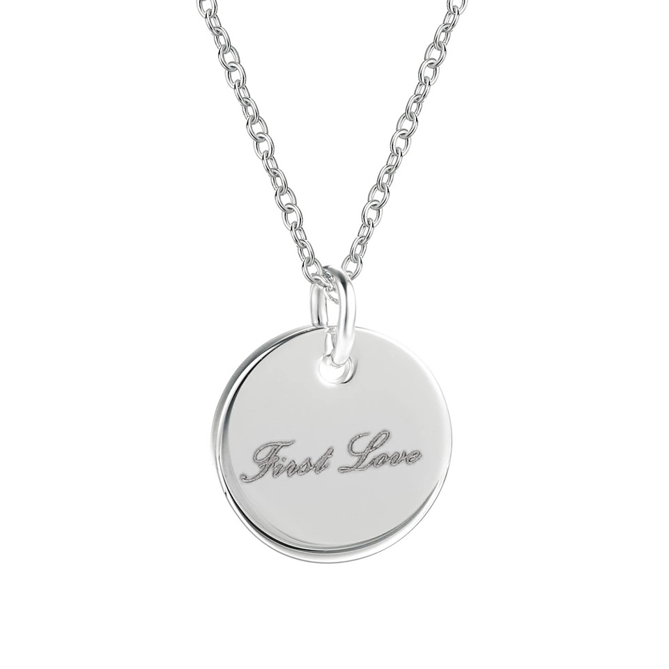 collier medaille love