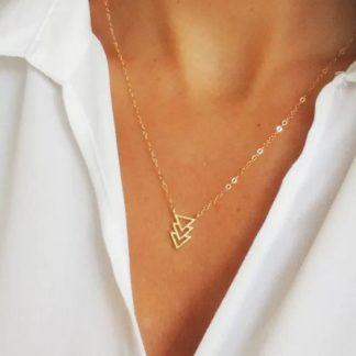 collier dore cadeau