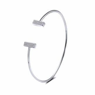 bracelet jonc tendance strass