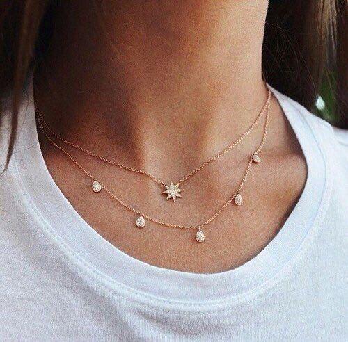 collier pendentif femme tendance