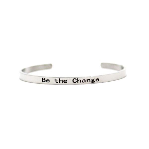 Bracelet message positif