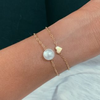 bracelet coeur perle cadeau