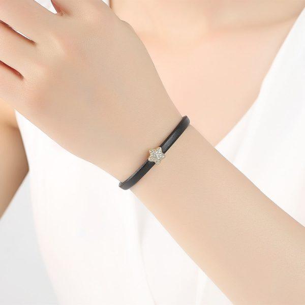 bracelet cuir femme