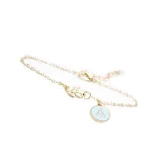 bracelet lettre