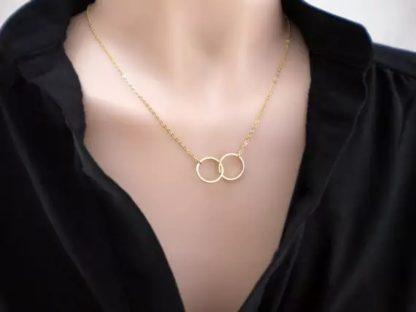 collier cercle cadeau femme
