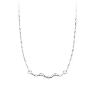 collier vague argent 925