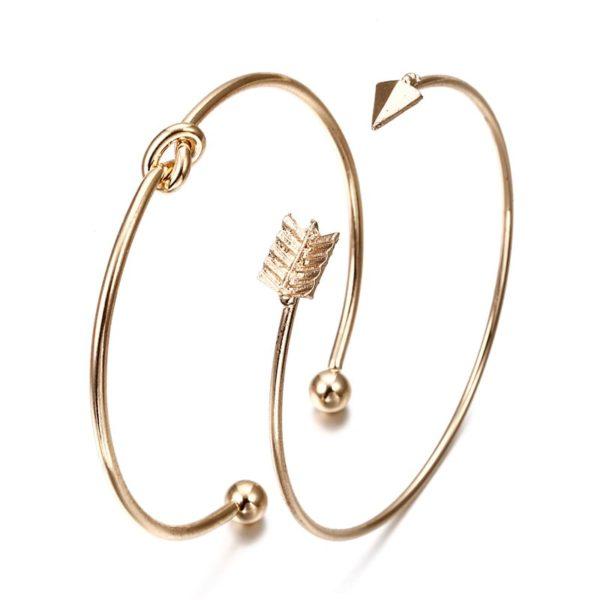 bracelet jonc fleche femme