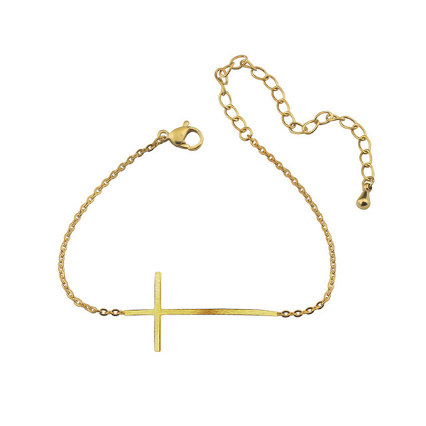 bracelet fantaisie croix