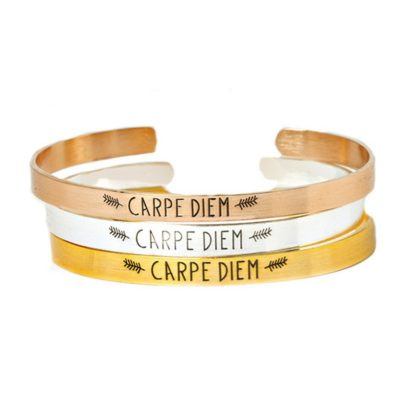 bracelet carpe diem