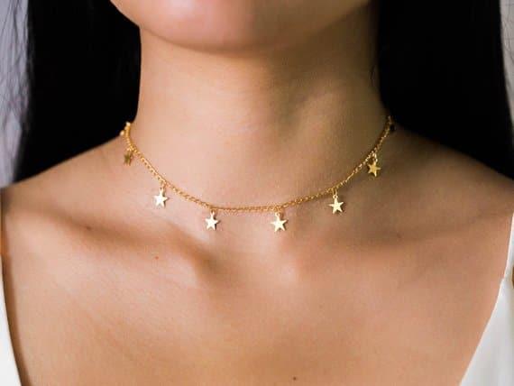 collier fantaisie cadeau pour femme
