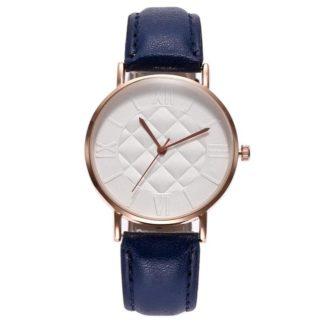 montre bleu femme