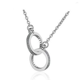collier cercles entrelaces cadeau