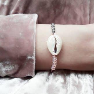 bracelet coquillage originale femme