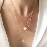 collier fantaisie coquillage