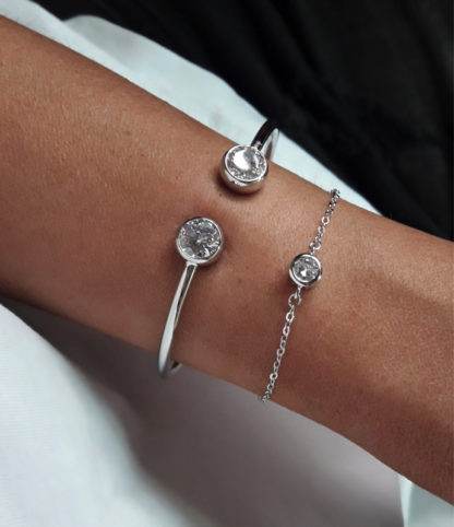 bracelet argent cadeau