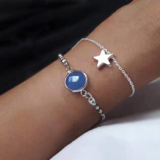 bracelet etoile cadeau femme pas cher