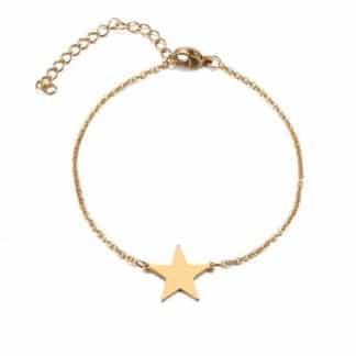 bracelet etoile femme