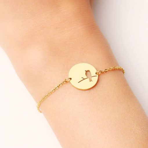 bracelet fantaisie medaille