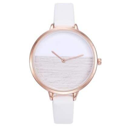 montre originale blanche cadeau
