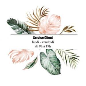 service client la parisienne bijoux