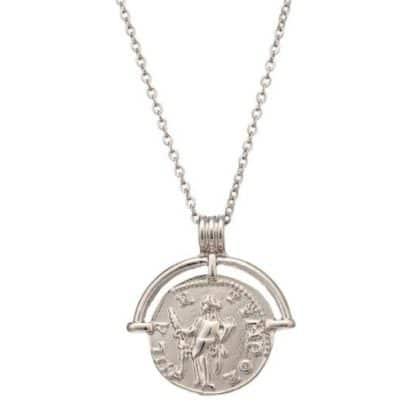 collier fantaisie medaille