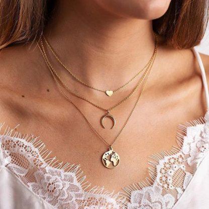 collier trois rangs cadeau original