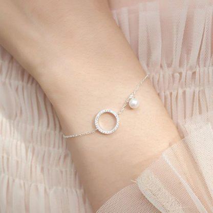 bracelet cercle argent 925