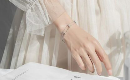 bracelet tendance argent 925