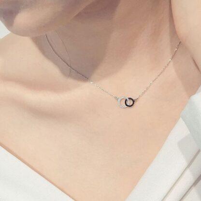 collier cercles cadeau femme