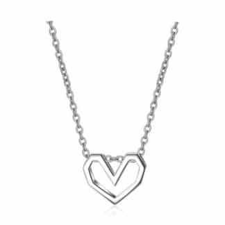 collier coeur argent cadeau