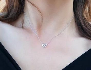 collier coeur cadeau